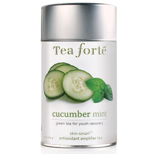 Tea Forte Skin Smart Cucumber Mint Green Tea - Loose Leaf Tea