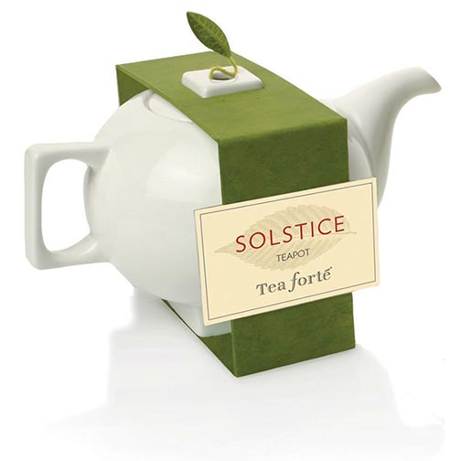 Tea Forte Solstice Teapot With Band