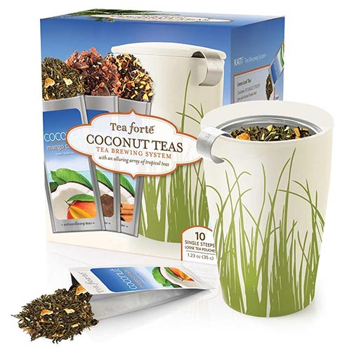 Tea Forte Tea Brewing System - Coconut Teas