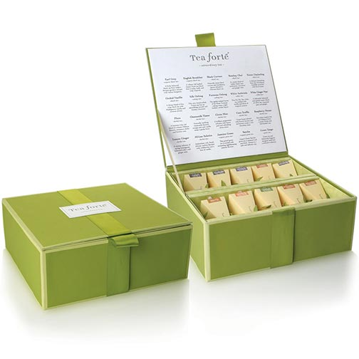 Tea Forte Tea Chest Collection - 40 Infusers
