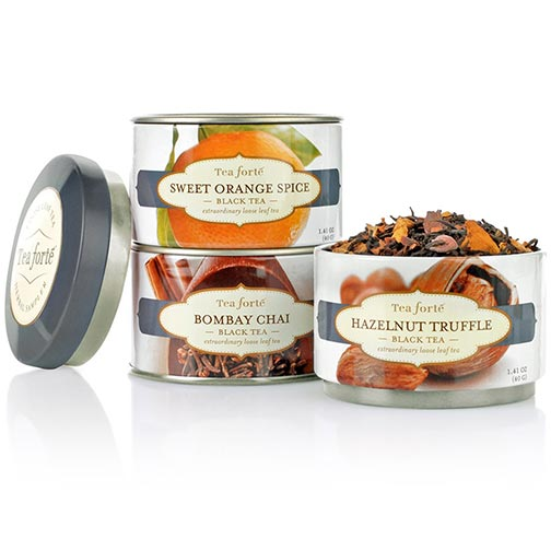 Tea Forte Trio Black Teas - Loose Leaf Tea