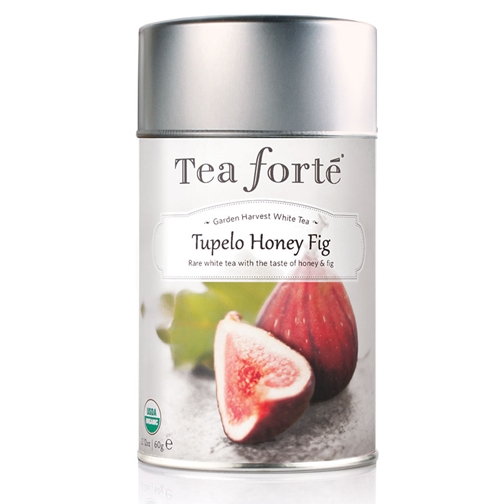 Tea Forte Tupelo Honey Fig White Tea - Loose Leaf Tea
