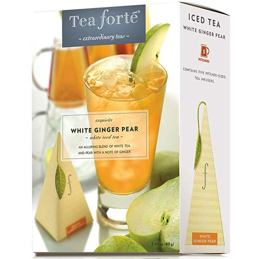 Tea Forte White Ginger Pear Iced Tea - White Tea