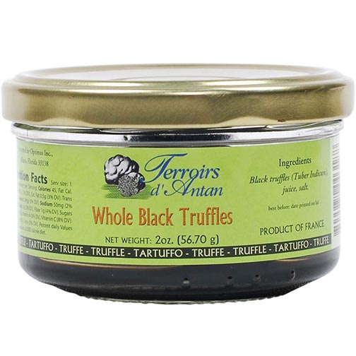 Asian Black Winter Truffles - Brushed