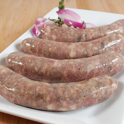 Duck & Pork Sausage with Figs