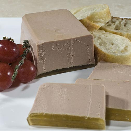 Duck Foie Gras Mousse with Port Wine Pate - All Natural