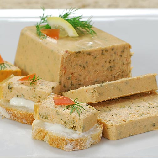 Smoked Salmon And Spinach Mousse Pate - All Natural