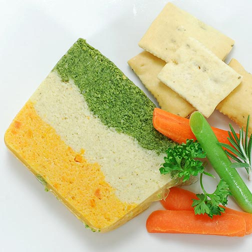 Three Layer Vegetable Pate - All Natural