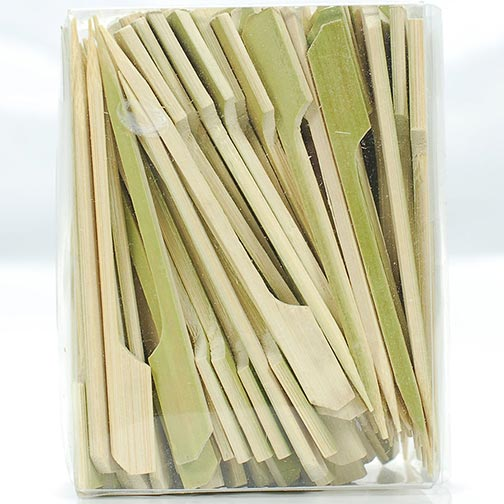 Bamboo Paddle Skewers - 3.5 Inch
