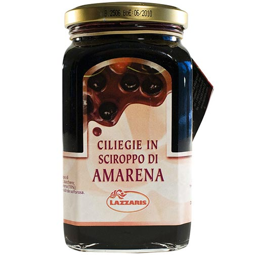 Italian Black Cherries in Amarena Syrup
