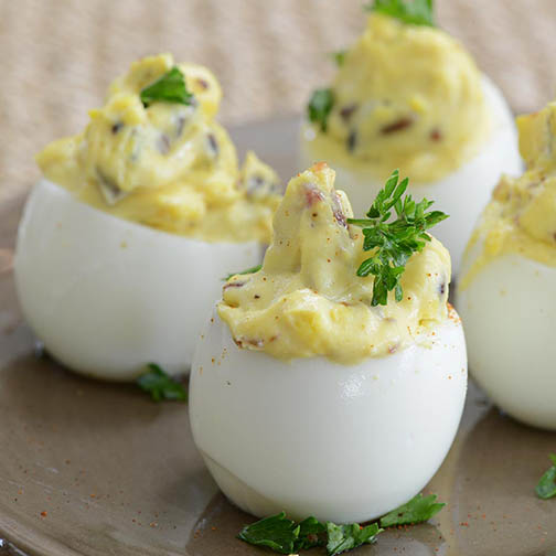Truffled Deviled Eggs Recipe | Gourmet Food Store