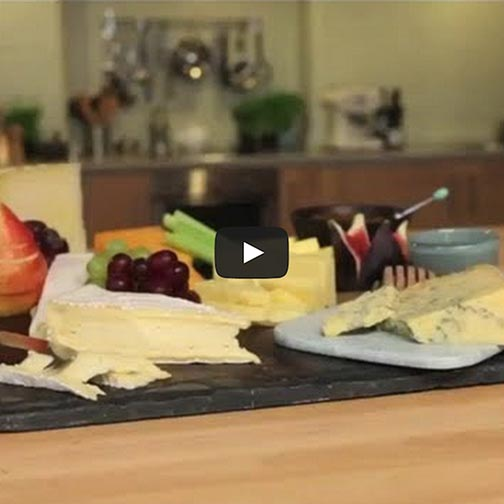 VIDEO: How To Style A Cheese Platter
