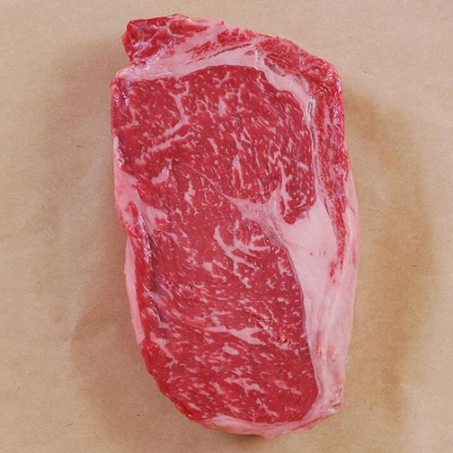 Wagyu Beef Rib Eye Steak MS4 - Whole, Cut To Order