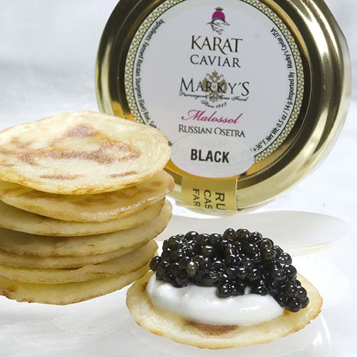 Karat Black Caviar Gift Set
