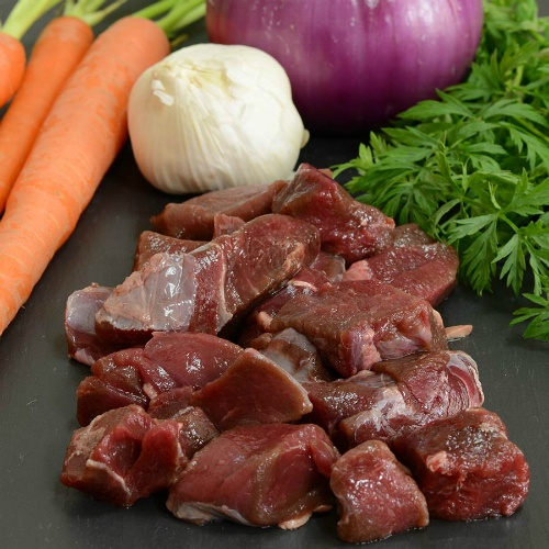 Diced Elk Stew Meat