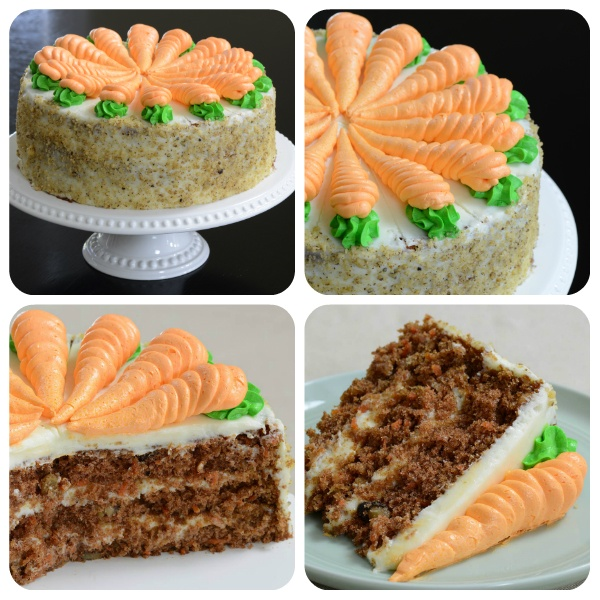 Three-Layer Country Carrot Cake