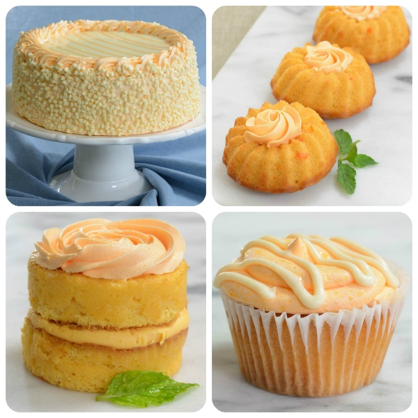 Florida Orange Sunshine® Desserts