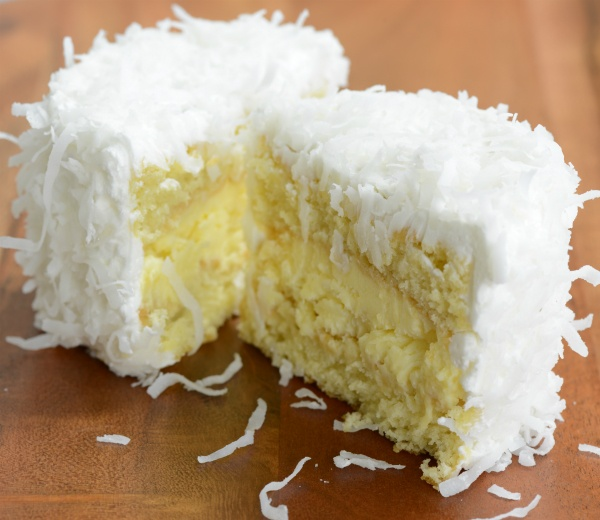 Divine Coconut Cream Mini Cakes