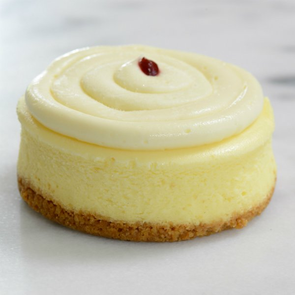 Key Lime Raspberry Mini Cheesecakes