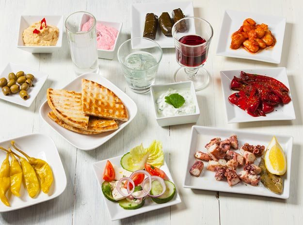 Greek Meze Food Platter