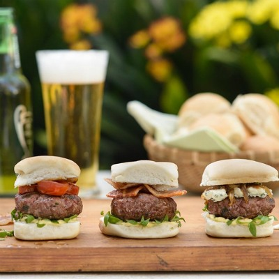 Wagyu Blue Cheese Sliders