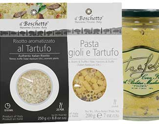 Truffle Risotto and Pasta