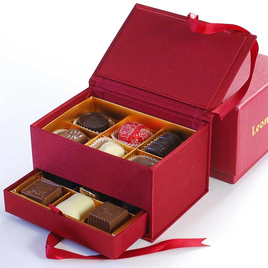Jewelry Box Small by Leonidas from Belgium buy gourmet chocolate