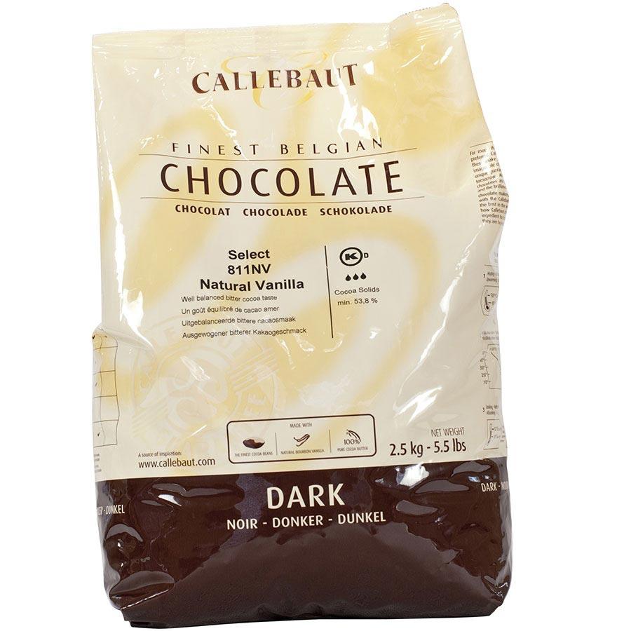 Belgian Semisweet Dark Chocolate Baking Callets Chips - 538% by ...