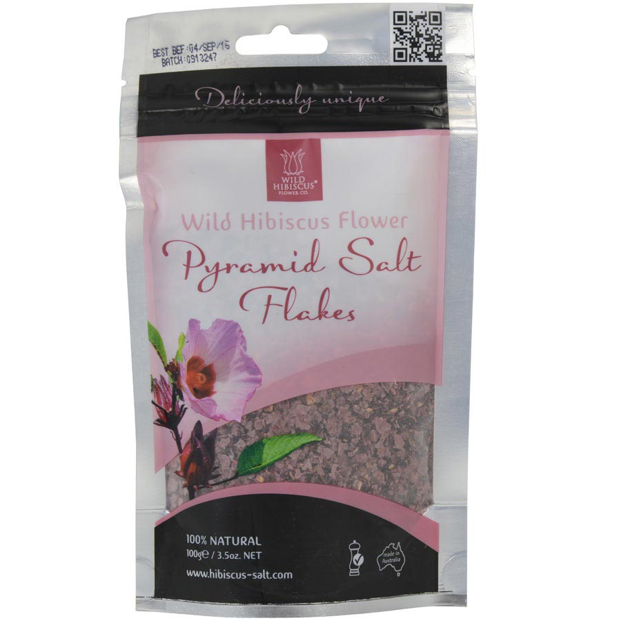 Wild hibiscus flower pyramid salt gourmet food store izmirmasajfo