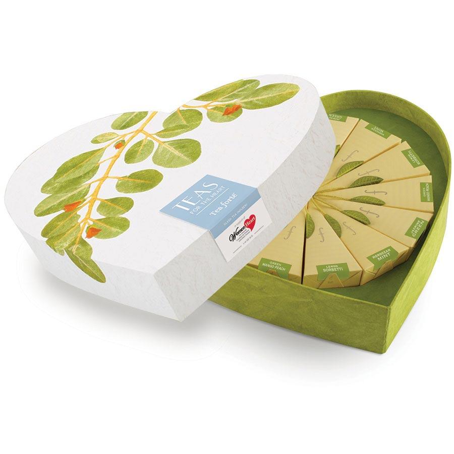 Tea Forte Green Tea Collection | Infusion Tea Gift Set
